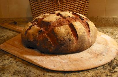 Evde Dogal Ekmek Yapımı