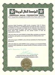 Gimdes helal gıda sertifikası